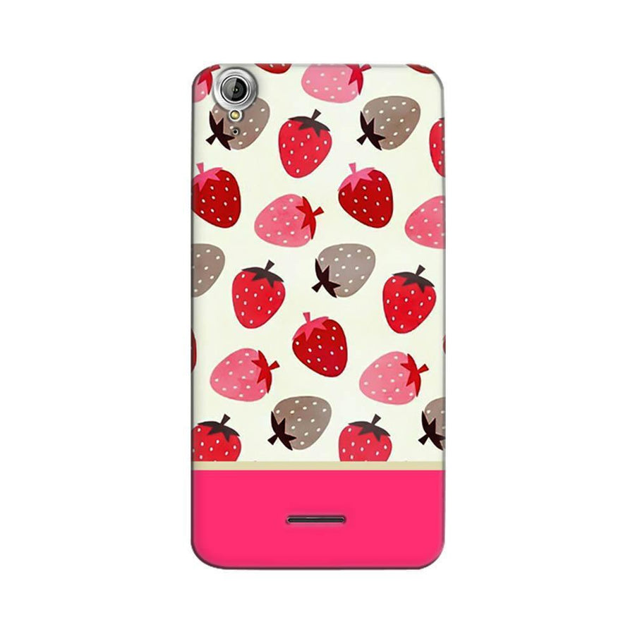 Mangomask Acer Liquid Z630 Mobile Phone Case Back Cover Custom Printed Designer Series Red And Pink Strawberries