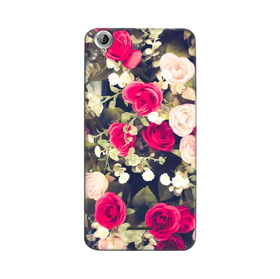 Mangomask Acer Liquid Z630 Mobile Phone Case Back Cover Custom Printed Designer Series Red And White Roses Floral