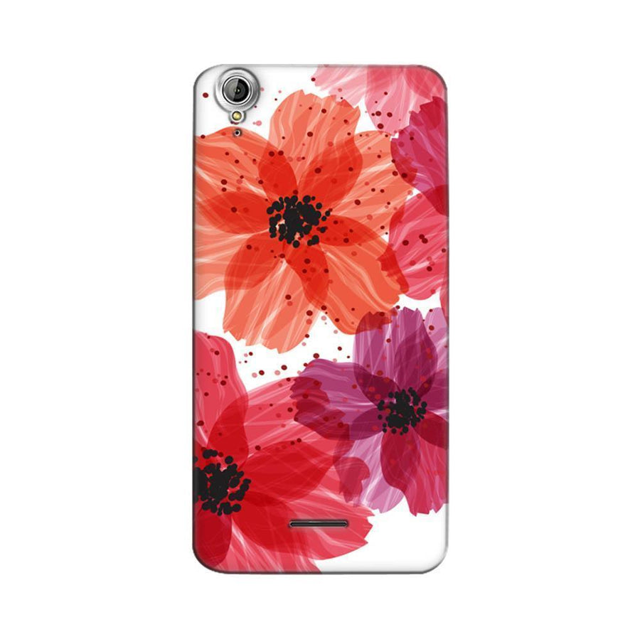 Mangomask Acer Liquid Z630 Mobile Phone Case Back Cover Custom Printed Designer Series Red Floral One