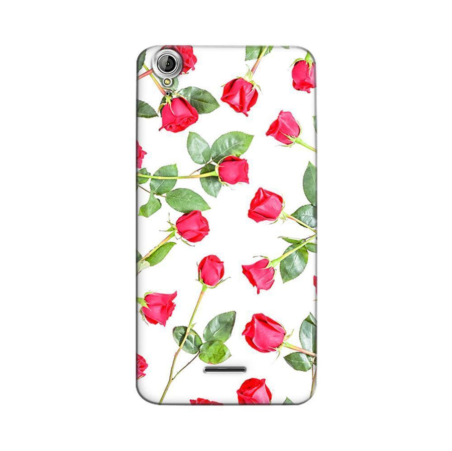 Mangomask Acer Liquid Z630 Mobile Phone Case Back Cover Custom Printed Designer Series Red Roses Floral