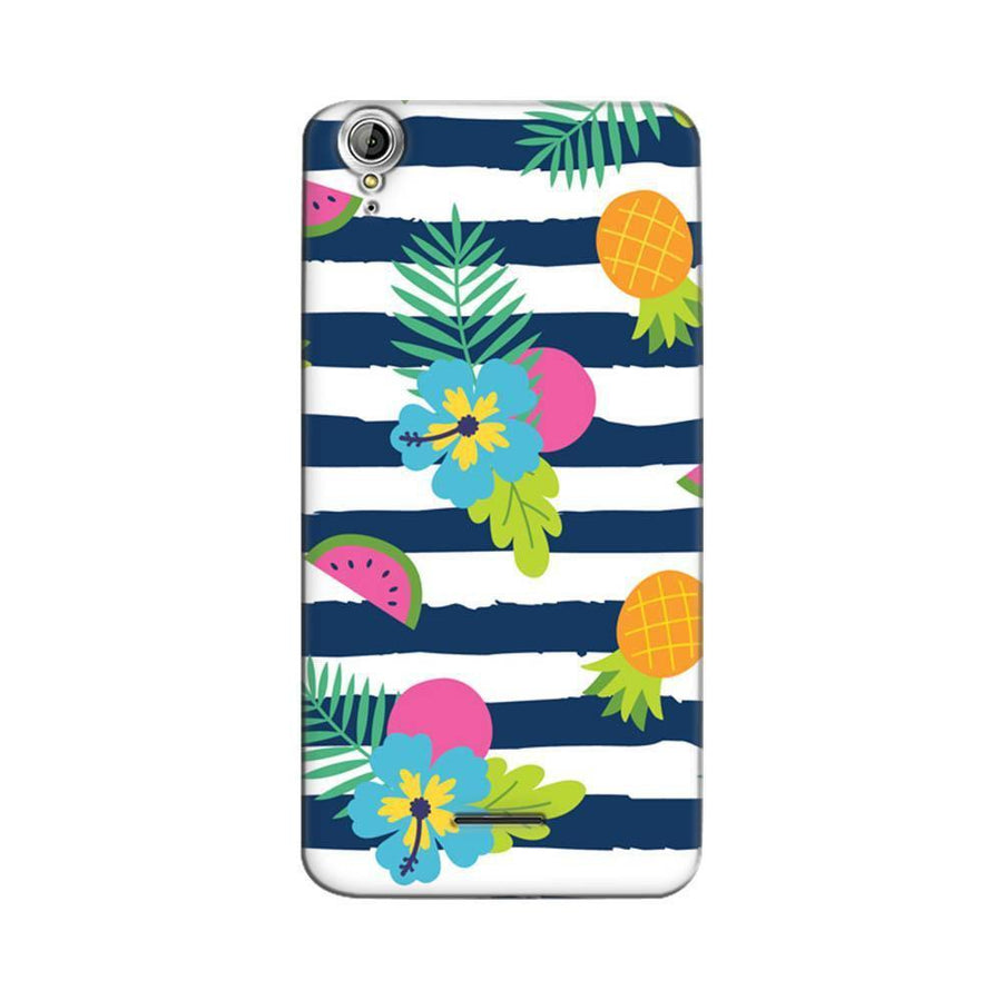 Mangomask Acer Liquid Z630 Mobile Phone Case Back Cover Custom Printed Designer Series Tropical Fruit Stripes