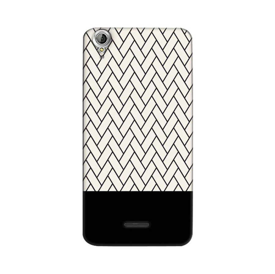 Mangomask Acer Liquid Z630 Mobile Phone Case Back Cover Custom Printed Designer Series White And Black Boxes Pattern Two