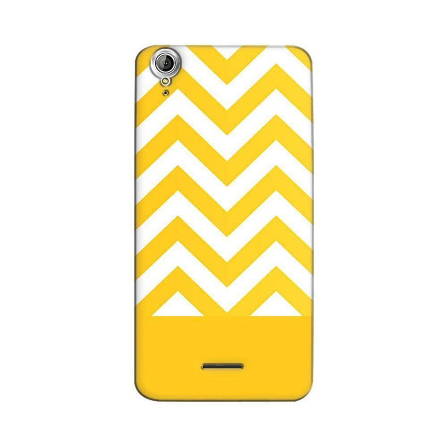 Mangomask Acer Liquid Z630 Mobile Phone Case Back Cover Custom Printed Designer Series Yellow White Pattern