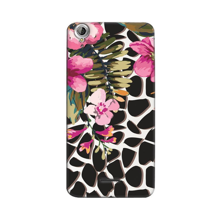 Mangomask Acer Liquid Z630 Mobile Phone Case Back Cover Custom Printed Designer Series Zebra Pink Floral