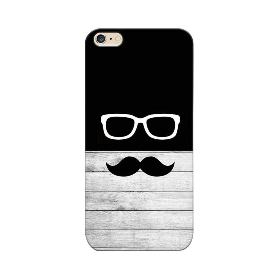 Mangomask Apple iPhone 6 / 6s  Mobile Phone Case Back Cover Custom Printed Designer Series Black And White Hipster