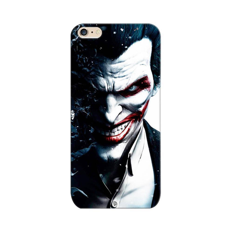 Mangomask Apple iPhone 6 / 6s  Mobile Phone Case Back Cover Custom Printed Designer Series Red Eye Joker