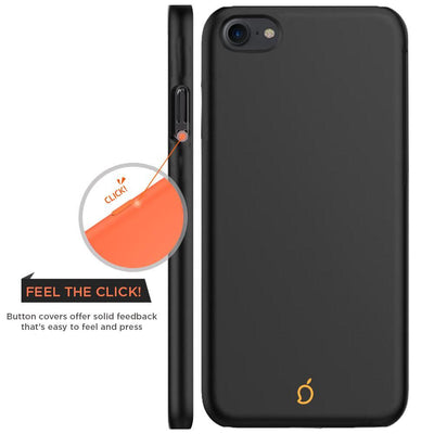 Apple iPhone 7 Black Mangomask - Apple iPhone 7  Mobile Phone Case Back Cover Slim Series