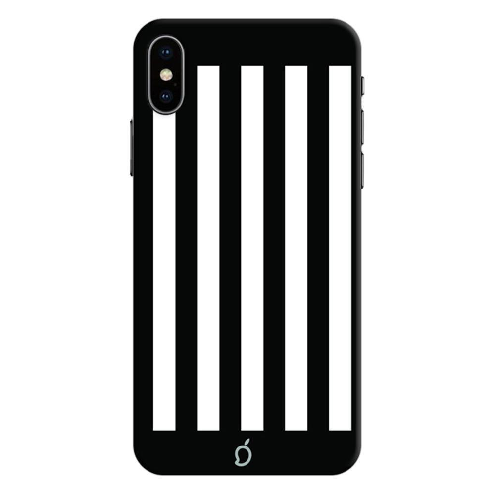 23634bb2 Mangomask Apple iPhone XS Max Mobile Phone Case Back Cover Custom Printed  Neon Series Black Striped 7