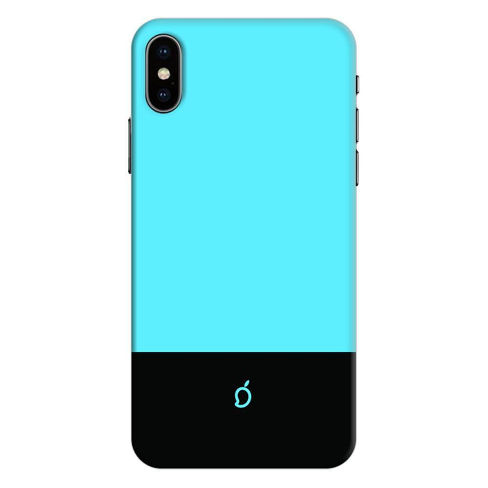 sky blue iphone xs max case