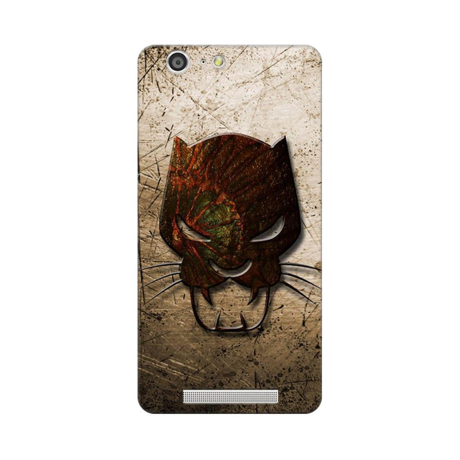Mangomask Gionee Marathon M5 Mobile Phone Case Back Cover Custom Printed Designer Series Tiger Mask