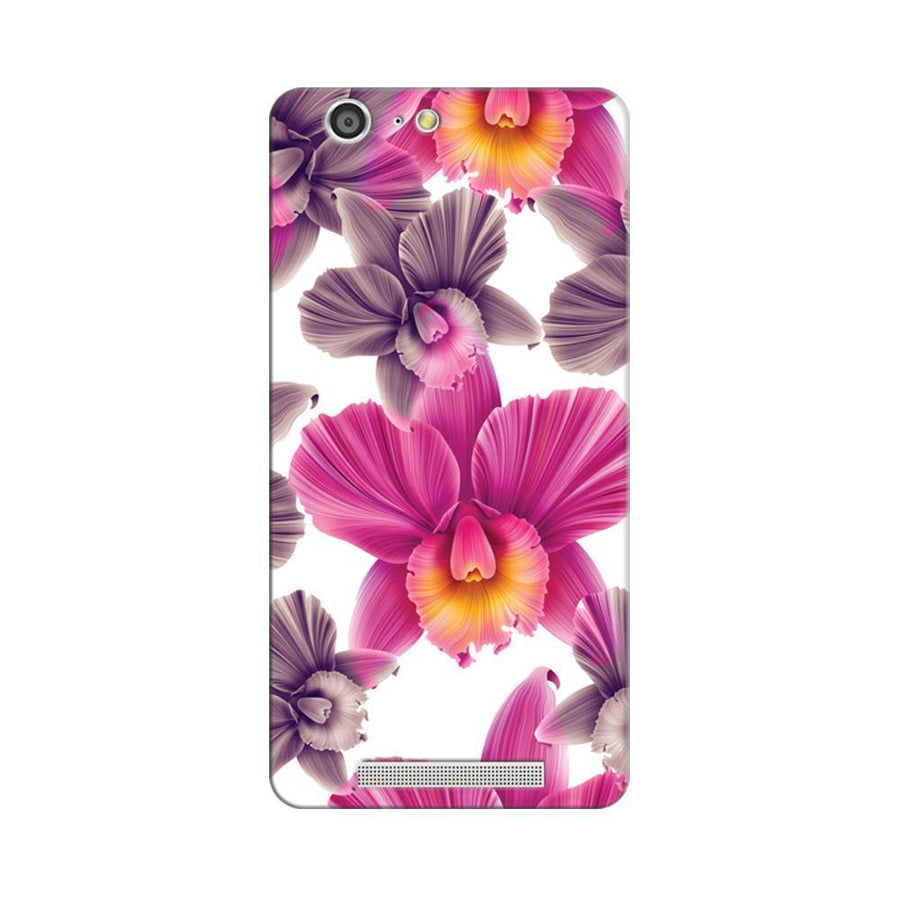 Mangomask Gionee Marathon M5 Mobile Phone Case Back Cover Custom Printed Designer Series Unique Floral Pattern