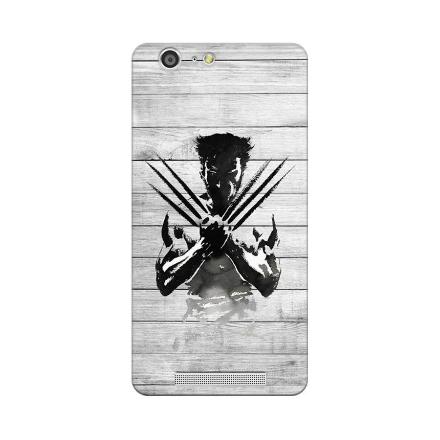 Mangomask Gionee Marathon M5 Mobile Phone Case Back Cover Custom Printed Designer Series Wolverine