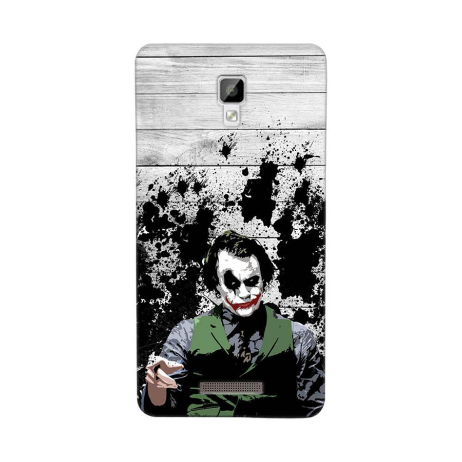 Mangomask Gionee P7 Mobile Phone Case Back Cover Custom Printed Designer Series Joker The Dark Knight