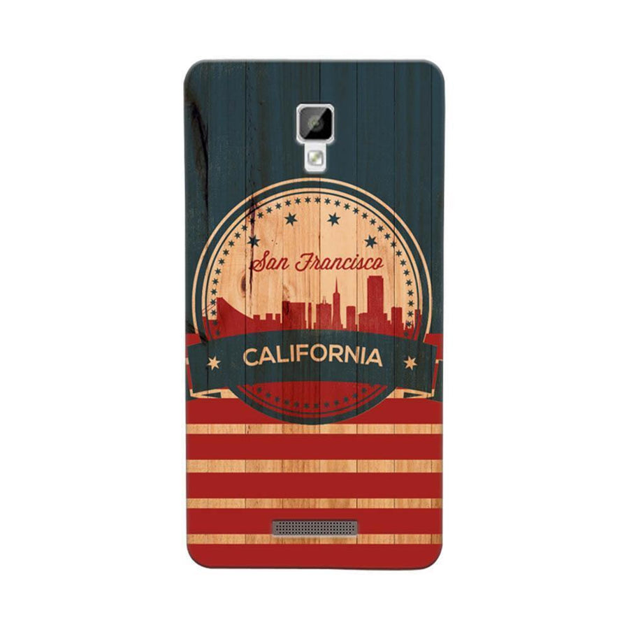 Mangomask Gionee P7 Mobile Phone Case Back Cover Custom Printed Designer Series San Francisco California