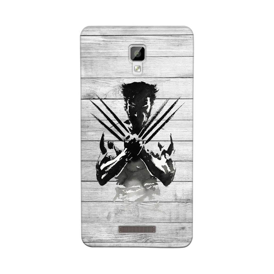 Mangomask Gionee P7 Mobile Phone Case Back Cover Custom Printed Designer Series Wolverine