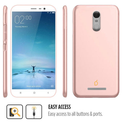 Xiaomi Redmi Note 3 Rose Gold Mangomask - Xiaomi Redmi Note 3  Mobile Phone Case Back Cover Slim Series