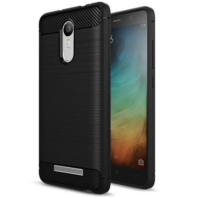 Xiaomi Redmi Note 3 Black Mangomask Xiaomi Redmi Note 3 Mobile Phone Case Back Cover Rig Armor Series