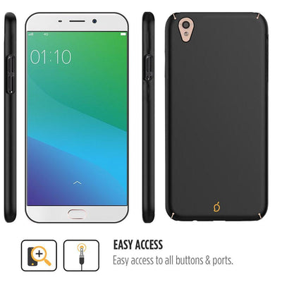 Oppo F1 Plus Black Mangomask - Oppo F1 Plus  Mobile Phone Case Back Cover Slim Series