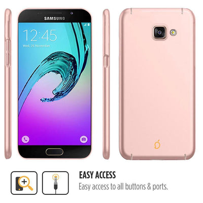 Samsung Galaxy A3 2016 Rose Gold Mangomask - Samsung Galaxy A3 2016 (A310 Model )  Mobile Phone Case Back Cover Slim Series