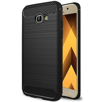 Samsung Galaxy A5 2017 Black Mangomask - Samsung Galaxy A5 2017  Mobile Phone Case Back Cover Rig Armor Series