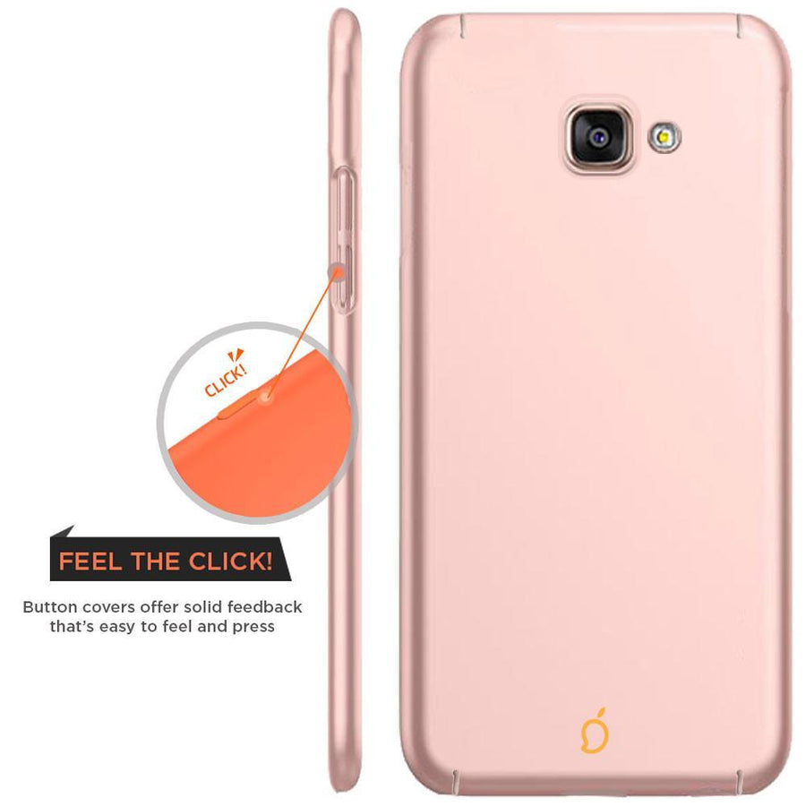 Samsung Galaxy A7 2016 Rose Gold Mangomask - Samsung Galaxy A7 2016 (A710 Model )  Mobile Phone Case Back Cover Slim Series