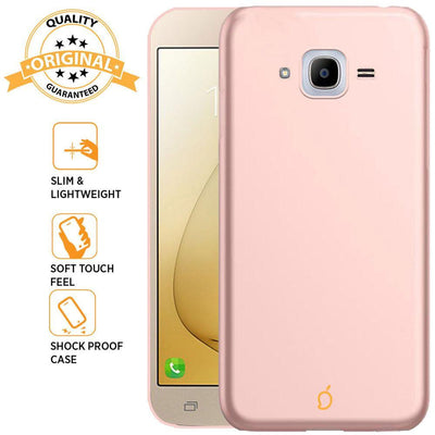 Samsung Galaxy J2 2016 / J2 Pro Rose Gold Mangomask - Samsung Galaxy J2 2016 (J210 Model ) / J2 Pro  Mobile Phone Case Back Cover Slim Series
