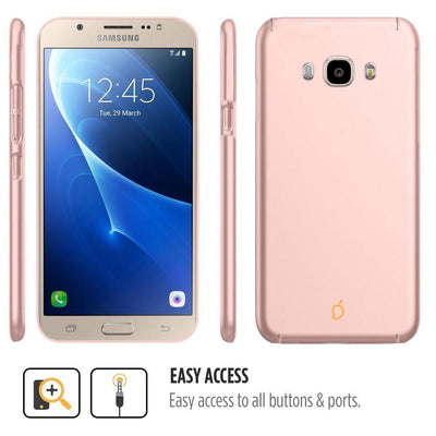 Samsung Galaxy J5 2016 Rose Gold Mangomask - Samsung Galaxy J5 2016 (J510 Model )  Mobile Phone Case Back Cover Slim Series