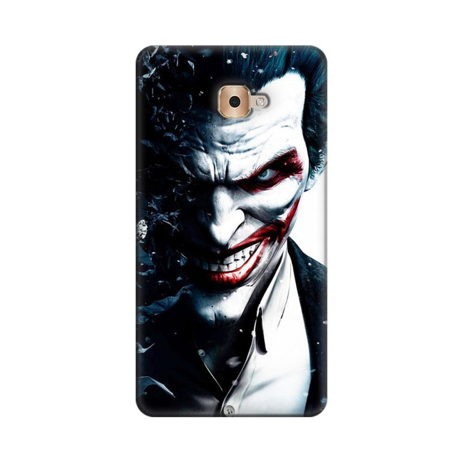 Mangomask  Samsung Galaxy J7 Max Mobile Phone Case Back Cover Custom Printed Designer Series Red Eye Joker