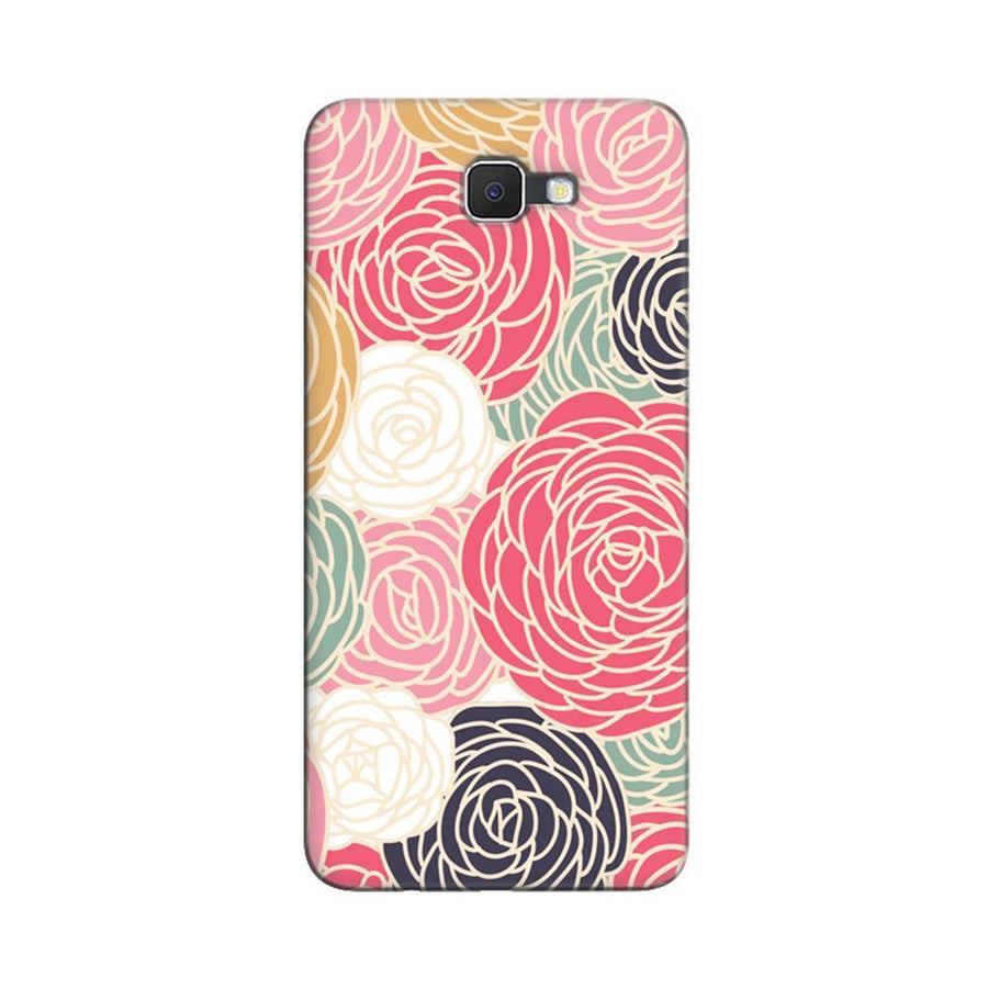 Samsung Galaxy J7 Prime / On7 2016 / On Nxt Mangomask  Samsung Galaxy J7 Prime / On7 2016 / On Nxt / J7 Prime 2 Mobile Phone Case Back Cover Custom Printed Designer Series Adorable Floral Pattern