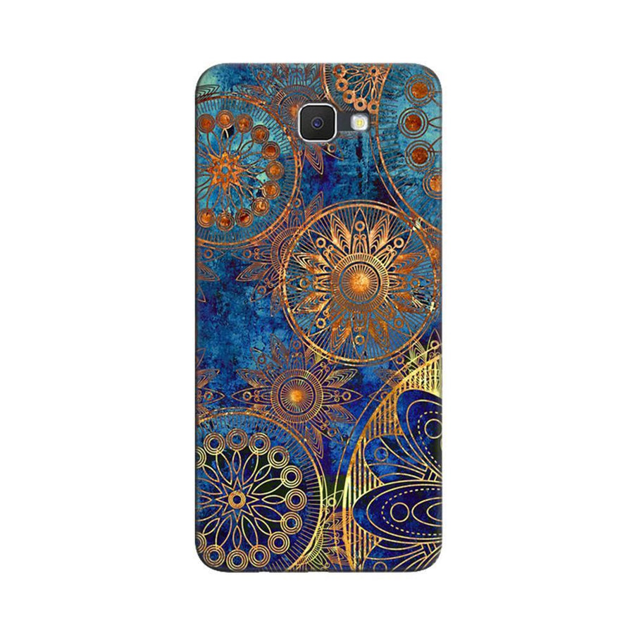 Samsung Galaxy J7 Prime / On7 2016 / On Nxt Mangomask  Samsung Galaxy J7 Prime / On7 2016 / On Nxt / J7 Prime 2 Mobile Phone Case Back Cover Custom Printed Designer Series Aqua Chakra Pattern