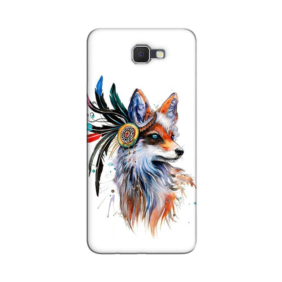 Samsung Galaxy J7 Prime / On7 2016 / On Nxt Mangomask  Samsung Galaxy J7 Prime / On7 2016 / On Nxt / J7 Prime 2 Mobile Phone Case Back Cover Custom Printed Designer Series Beautiful Fox