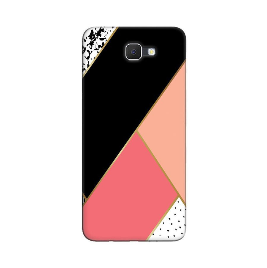 Samsung Galaxy J7 Prime / On7 2016 / On Nxt Mangomask  Samsung Galaxy J7 Prime / On7 2016 / On Nxt / J7 Prime 2 Mobile Phone Case Back Cover Custom Printed Designer Series Black And Pink Cute Pattern