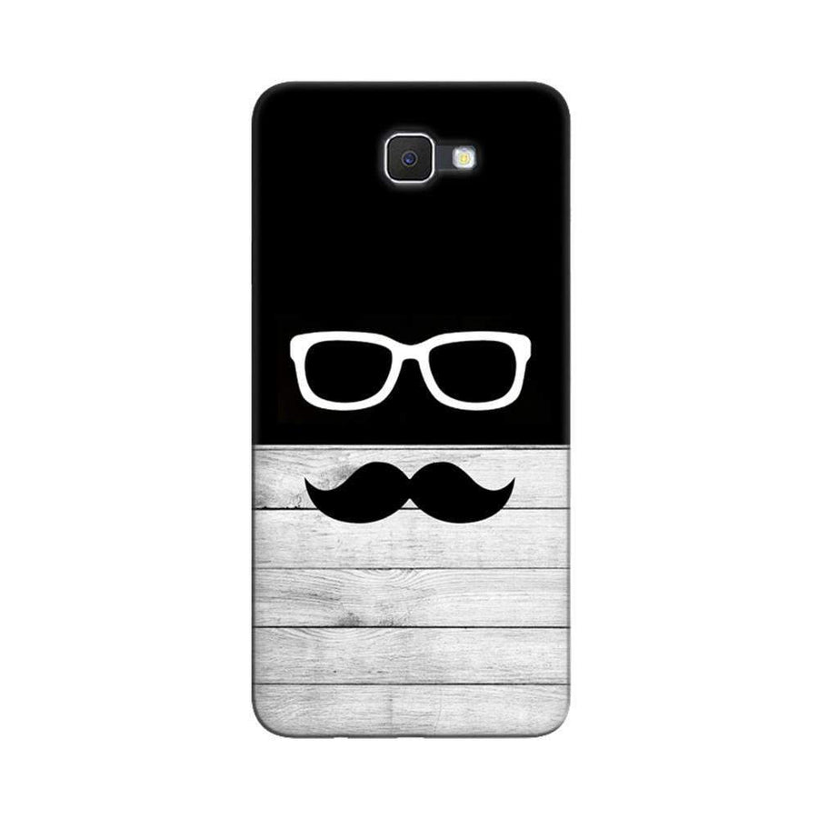 Mangomask  Samsung Galaxy J7 Prime / On7 2016 / On Nxt / J7 Prime 2 Mobile Phone Case Back Cover Custom Printed Designer Series Black And White Hipster