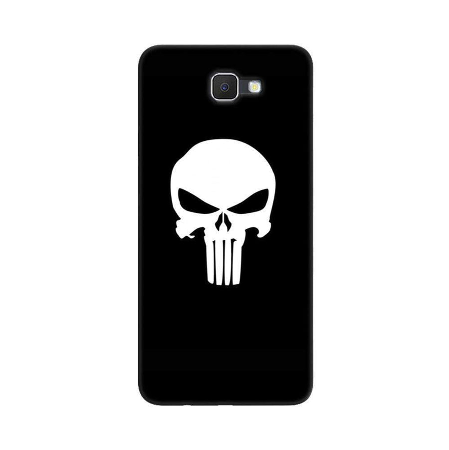 Samsung Galaxy J7 Prime / On7 2016 / On Nxt Mangomask  Samsung Galaxy J7 Prime / On7 2016 / On Nxt / J7 Prime 2 Mobile Phone Case Back Cover Custom Printed Designer Series Black And White Skull
