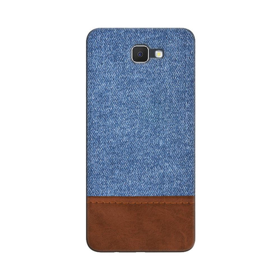 Samsung Galaxy J7 Prime / On7 2016 / On Nxt Mangomask  Samsung Galaxy J7 Prime / On7 2016 / On Nxt / J7 Prime 2 Mobile Phone Case Back Cover Custom Printed Designer Series Blue Leather Jeans