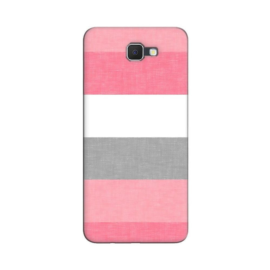 Samsung Galaxy J7 Prime / On7 2016 / On Nxt Mangomask  Samsung Galaxy J7 Prime / On7 2016 / On Nxt / J7 Prime 2 Mobile Phone Case Back Cover Custom Printed Designer Series Colorful Pink Stripes