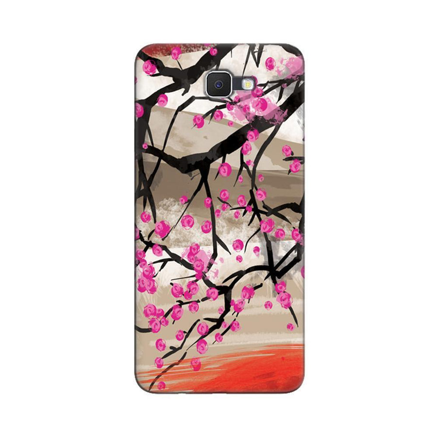 Samsung Galaxy J7 Prime / On7 2016 / On Nxt Mangomask  Samsung Galaxy J7 Prime / On7 2016 / On Nxt / J7 Prime 2 Mobile Phone Case Back Cover Custom Printed Designer Series Floral Pattern One