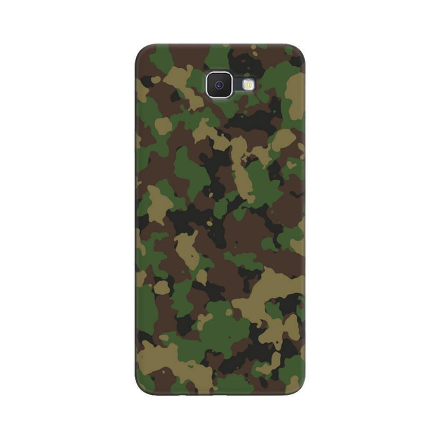 Samsung Galaxy J7 Prime / On7 2016 / On Nxt Mangomask  Samsung Galaxy J7 Prime / On7 2016 / On Nxt / J7 Prime 2 Mobile Phone Case Back Cover Custom Printed Designer Series Green Military