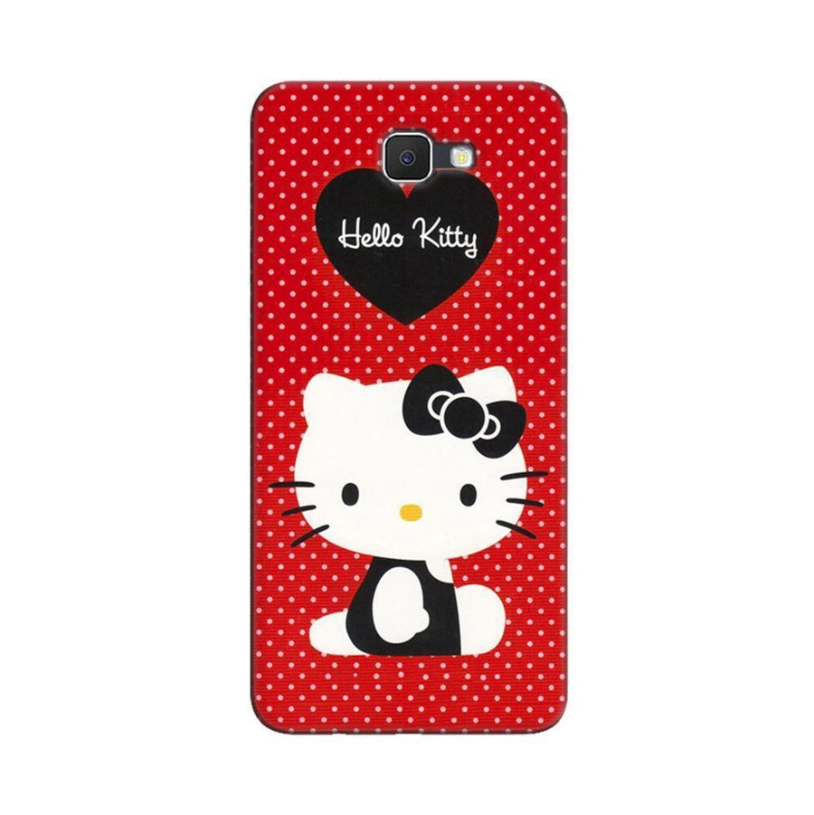 Samsung Galaxy J7 Prime / On7 2016 / On Nxt Mangomask  Samsung Galaxy J7 Prime / On7 2016 / On Nxt / J7 Prime 2 Mobile Phone Case Back Cover Custom Printed Designer Series Hello Kitty Red