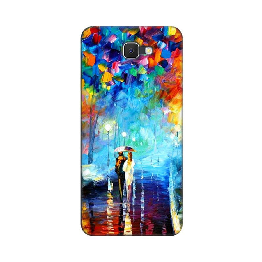 Samsung Galaxy J7 Prime / On7 2016 / On Nxt Mangomask  Samsung Galaxy J7 Prime / On7 2016 / On Nxt / J7 Prime 2 Mobile Phone Case Back Cover Custom Printed Designer Series Romantic Couple Walk