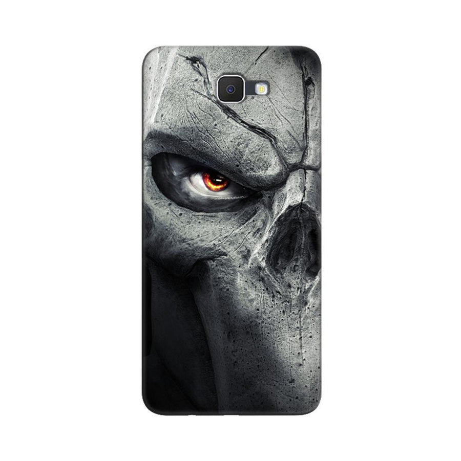 Samsung Galaxy J7 Prime / On7 2016 / On Nxt Mangomask  Samsung Galaxy J7 Prime / On7 2016 / On Nxt / J7 Prime 2 Mobile Phone Case Back Cover Custom Printed Designer Series Serious Skull