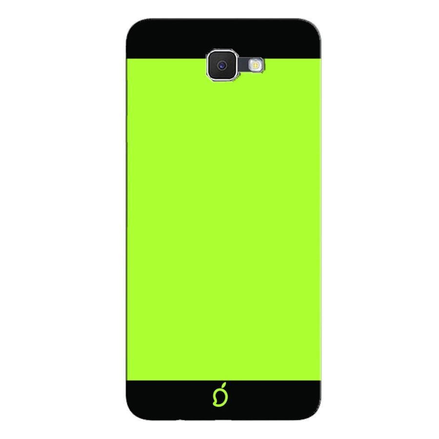 Samsung Galaxy J7 Prime / On7 2016 / On Nxt Mangomask  Samsung Galaxy J7 Prime / On7 2016 / On Nxt / J7 Prime 2 Mobile Phone Case Back Cover Custom Printed Neon Series Inchworm Green Striped Two
