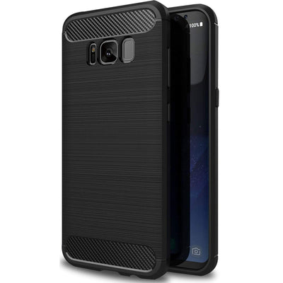 Samsung Galaxy S8 Plus Black Mangomask - Samsung Galaxy S8 Plus Mobile Phone Case Back Cover Rig Armor Series
