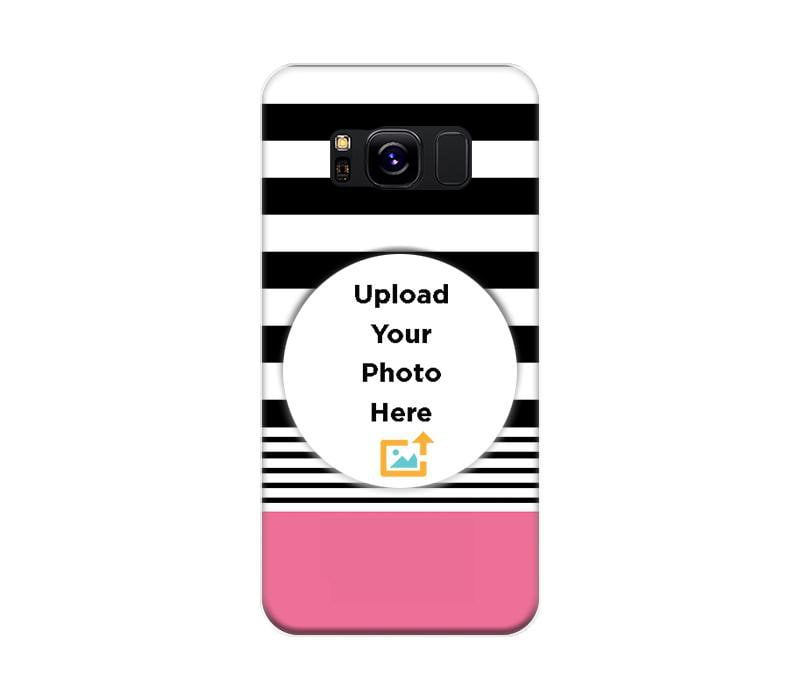 Mangomask Samsung Galaxy S8 Personalized Custom Printed Mobile Phone Case Back Cover Design Your Own Case (Template Seven)