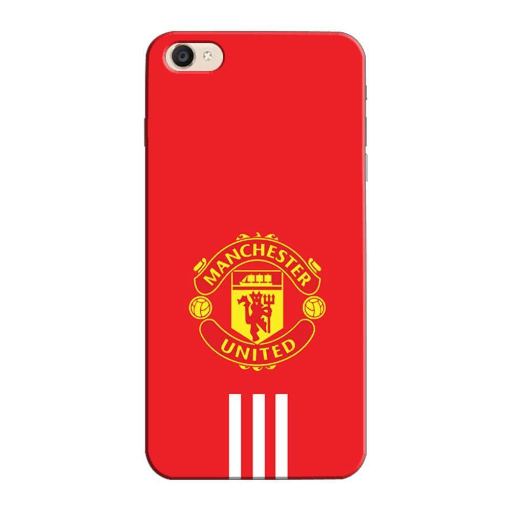 purchase cheap d4883 12b15 Mangomask Vivo V5s Mobile Phone Case Back Cover Custom Printed Designer  Series Manchester United Logo 03