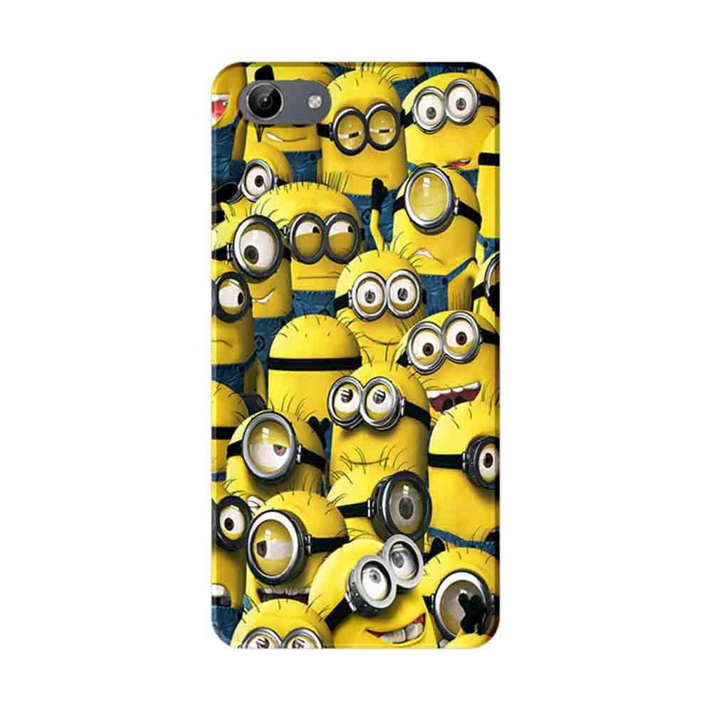 Mangomask Vivo Y71 Mobile Phone Case Back Cover Custom Printed Designer  Series Funny Minions Despicable Me