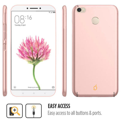 Xiaomi Mi Max Rose Gold Mangomask - Xiaomi Mi Max  Mobile Phone Case Back Cover Slim Series
