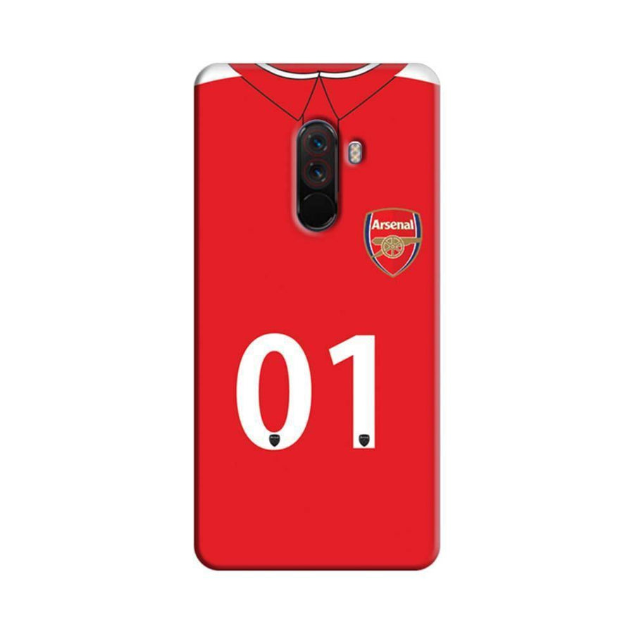 Xiaomi Poco F1 Mangomask  Xiaomi Poco F1 Mobile Phone Case Back Cover Custom Printed Designer Series  Arsenal Jersey