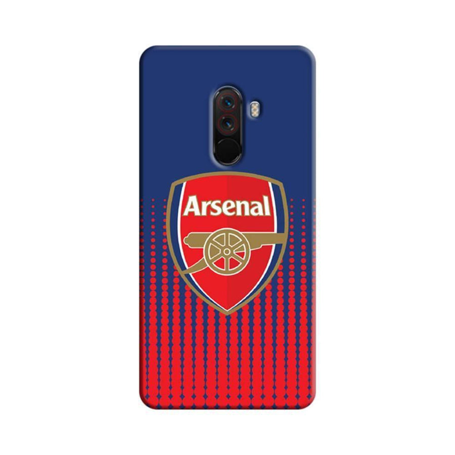 Xiaomi Poco F1 Mangomask  Xiaomi Poco F1 Mobile Phone Case Back Cover Custom Printed Designer Series  Arsenal Logo 02