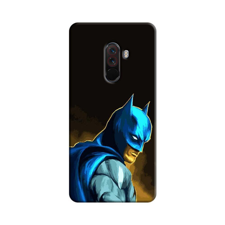 Xiaomi Poco F1 Mangomask  Xiaomi Poco F1 Mobile Phone Case Back Cover Custom Printed Designer Series  Batman 01